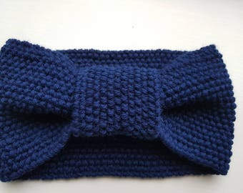 2 NEW colours.. Merino wool and Cashmere knitted HEADBANDS..  Stylish and comfortable.