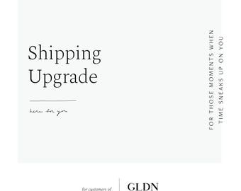Quick Ship Upgrade - Options for Faster Shipping of Your Order via UPS or USPS // for Layered + Long Orders