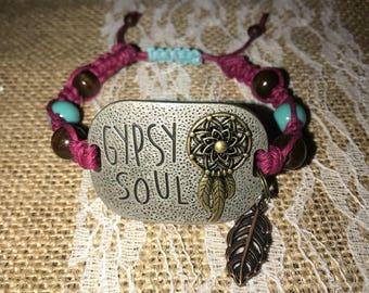 Gypsy Soul Hemp Bracelet