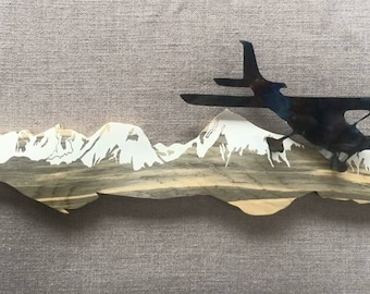 Soaring over the Mountains