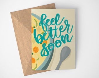 Get Well Cards, Thinking of You Cards, Healing Vibes, Chicken Soup Get Well Cards, Blank Get Well Cards, Thoughtful Get Well Card