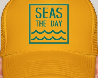 Seas The Day (Yellow)