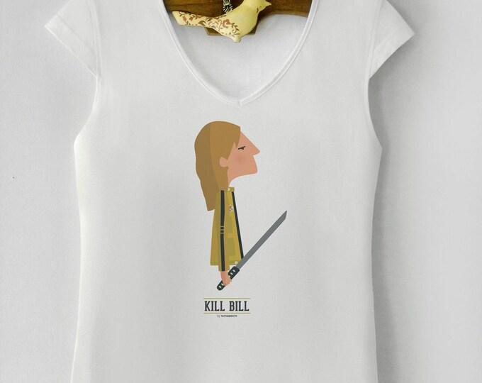 "Camiseta de mujer "" Kill Bill "". Basada en la película de Quentin Tarantino."