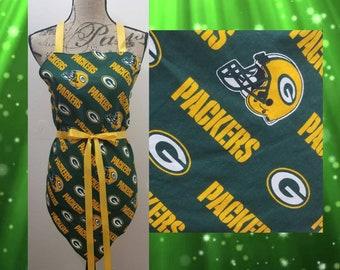 Woman's Greenbay Packers Apron