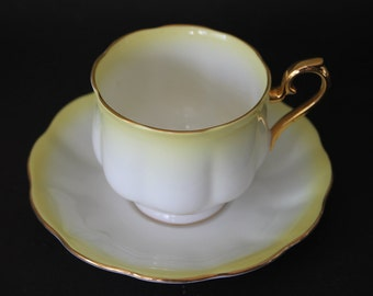 "ROYAL ALBERT Bone China Teacup and Saucer Set  ""Rainbow Series"""