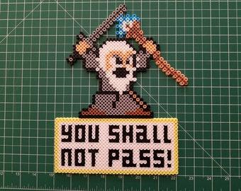 Gandalf You Shall Not Pass Bead Art