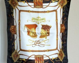 Renard silk scarf