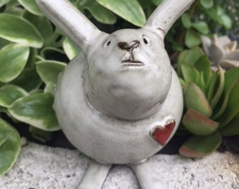 Pottery Tobacco Pipe Jake the Bunny