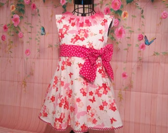 Tea Dress style party dress size 1-2 years