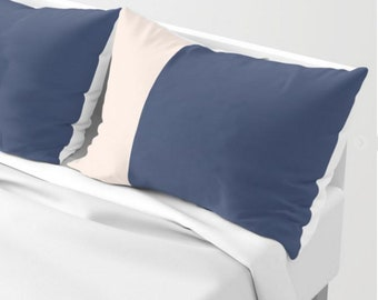 Navy Blue Shams - SET OF TWO - Enjoy Free Shipping!