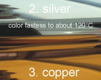 Metallic foils