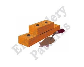 Brick & Mortar - Machine Embroidery Design