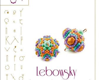 Lebowsky - Beaded Bead Pattern with Superduo - PDF instruction for personal use only