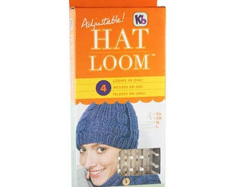 Knitting Looms , Adjustable Hat Loom by Knitting Board KB