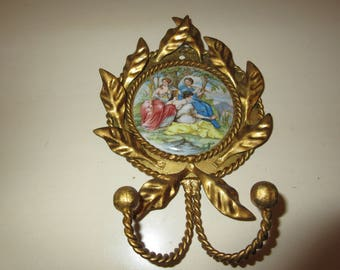 ITALY ROMANCE CLOTHES Hanger Wall Hanging