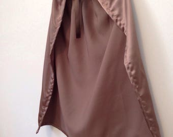 Ready to ship - kids dress up golden brown cape