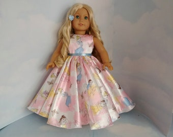 Princess Gown 18 inch doll clothes