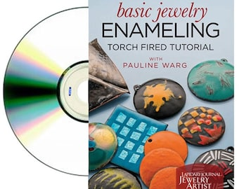DVD Basic Jewelry Enameling Torch Fired Tutorial by Pauline Warg WA 780-022