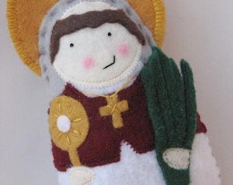 Saint Raymond Nonnatus...Felt Softie