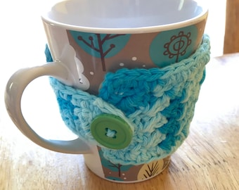 Customize a Cup Cozy with Button
