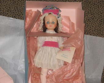 Vintage 1970's MADAME ALEXANDER Portrait Children Degas Mint in Box