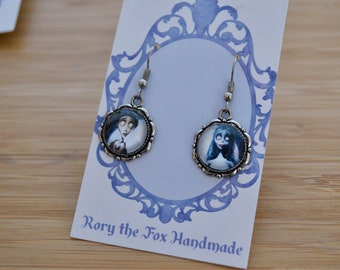 Corpse bride (inspired) earrings