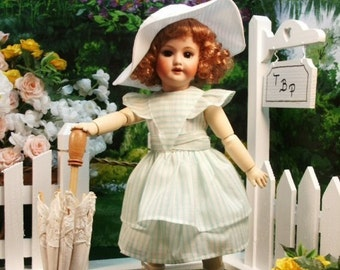 Bleuette pattern for doll clothing - LA BRISE 1942 Gautier Languereau
