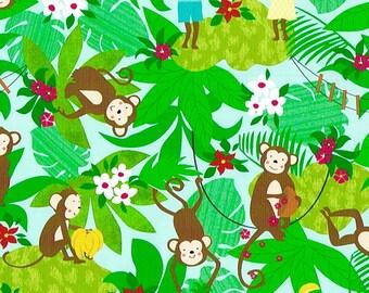 Papier cadeau FERNANDO – Motif: petits singes