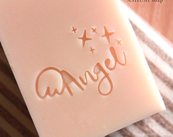 Ashuai soap-Acrylic soap stamp A099 Angel (free shipping)