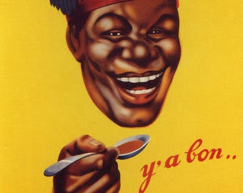 Banania #1 Vintage French Poster Print
