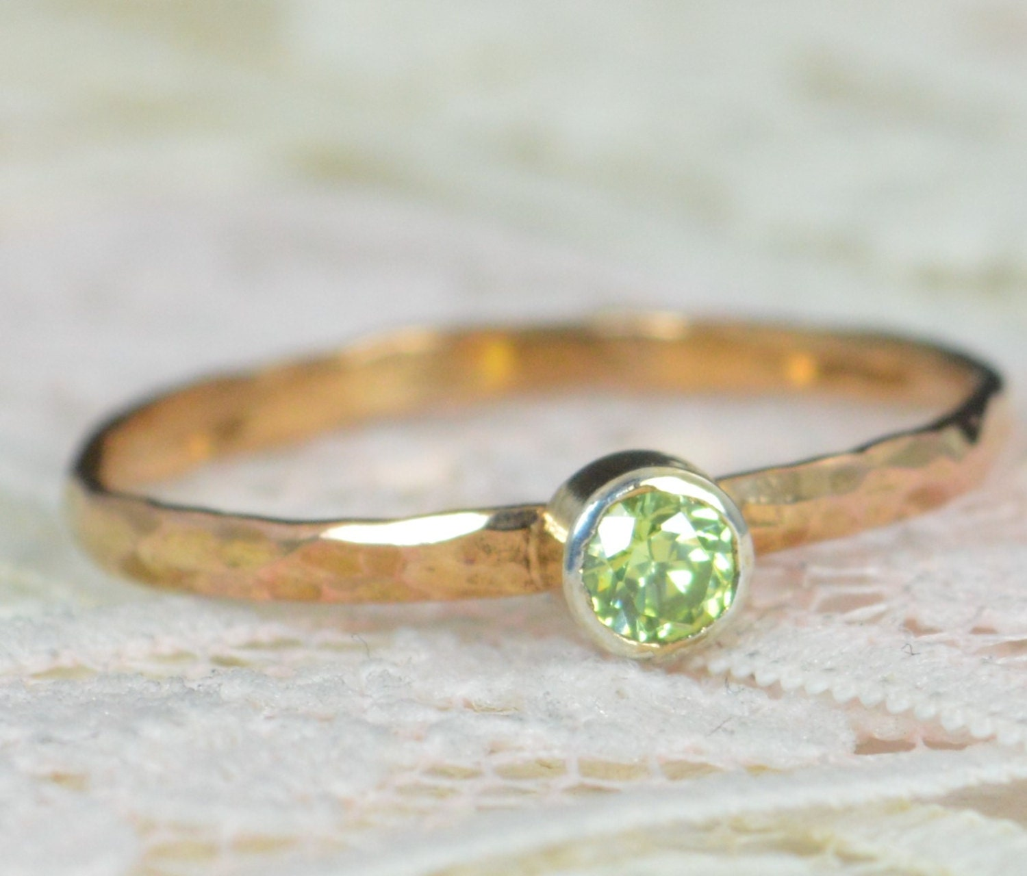 her eternity full rings rose wedding gold ring for band annivery peridot