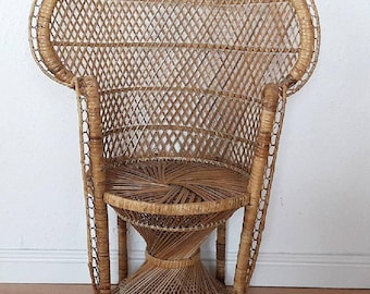 Peacock Chair for Kids