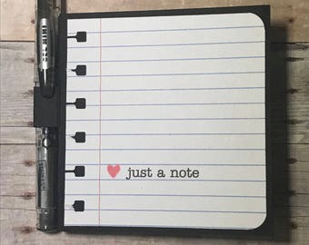 Just A Note Post It Notes Holder