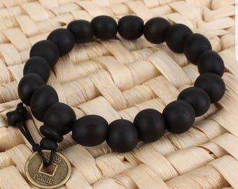 Bracelet wood mala