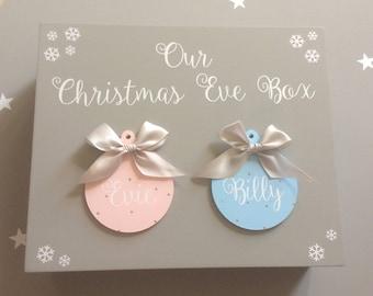 Christmas Eve box Christmas box personalised Christmas Eve box kids Christmas Eve box custom Christmas Eve box children's Christmas Eve box