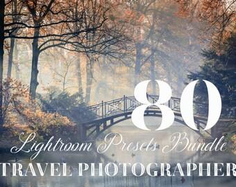 80 Travel and Landscape Lightroom Presets Bundle - Landscape Presets - Adobe Lightroom Presets for 4, 5, 6 and CC - Travel Photography