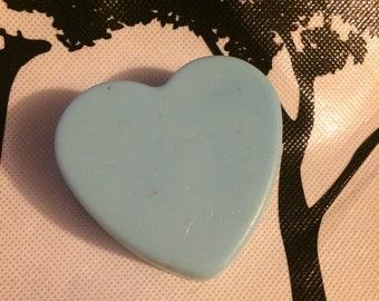Big heart soap