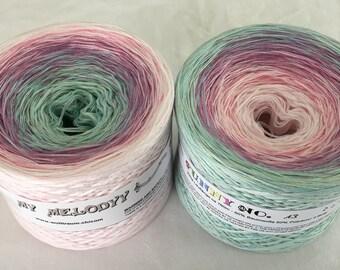 Funny 13 - Monet - Specialty Yarn - Gradient Yarn - Crochet Yarn - Knitting Yarn - Wolltraum Yarn - Ombre Yarn - Threads