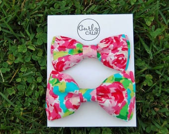 Floral Father/ Son Bow tie set