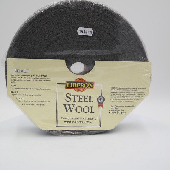0000 Steel Wool Wax: Liberon Steel Wool 0000grade