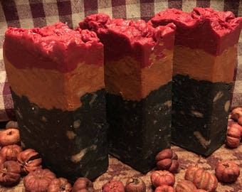 Dragon Fire And Brimstone Goat Milk & Beer Soap/Handmade Soap/ Country This Primitive That