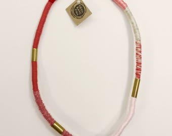 Strawberry Rope Necklace 1