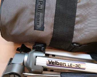 Vintage Velbon Camera Tripod with Pullman case