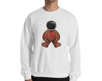 Teddy Bear Astronaut Sweatshirt