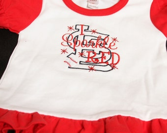 I Sparkle Red STL Cardinal Outfit