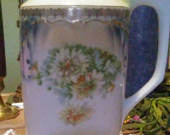 P K Silesia Vintage Porcelain Pitcher with lids