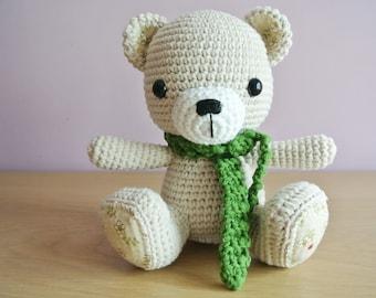 Tee Teddy Crochet Bear Amigurumi - Handmade Crochet Amigurumi Toy Doll - Bear Crochet - Amigurumi Bear