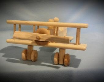 Wood Toy Plane