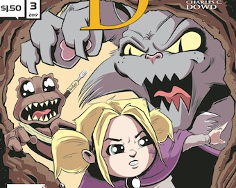 Single Issues: Lilith Dark #3 of 4 (Alterna Comics, 2017) Charles C. Dowd newsprint comic books fantasy adventure