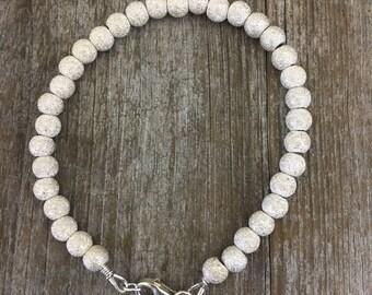 Stardust Sterling Silver handmade bracelet
